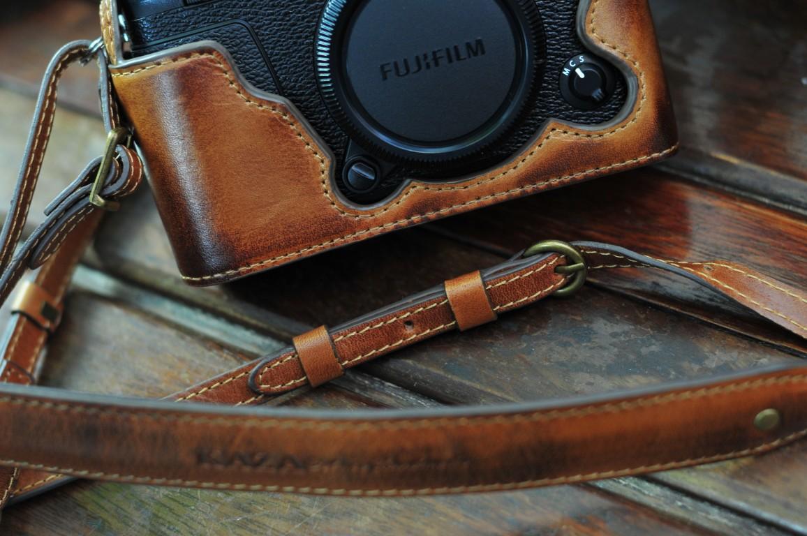 富士xe3 用カメラケース Fujifilm XE3 相機皮套 Leather case by KAZA