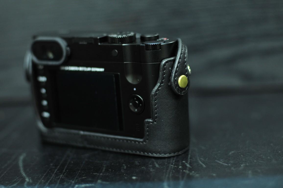 ライカ Q 用カメラケース Leica Q 相機皮套 Leica Q Leather case by KAZA