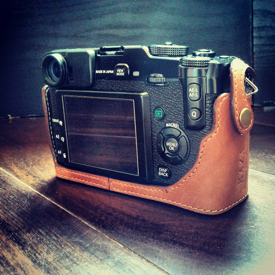 Fujifilm XPro1 Leather case 皮套 富士X Pro1 用カメラケース