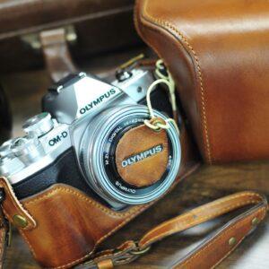 Olympus OM-D E-M10 mark iii 相機皮套 Leather case オリンパスOM-D E-M10 mk3 カメラケース by KAZA