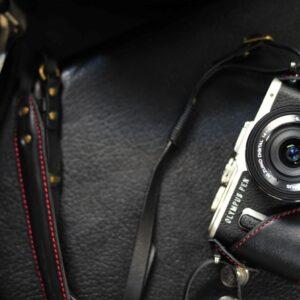 Olympus E-PL8 相機皮套 Leather case オリンパス E-PL8 カメラケース by KAZA