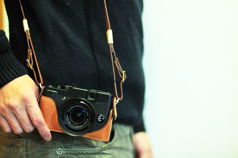 Fujifilm X10 相機皮套 Leather case 富士フイルム X10用カメラケースby KAZA