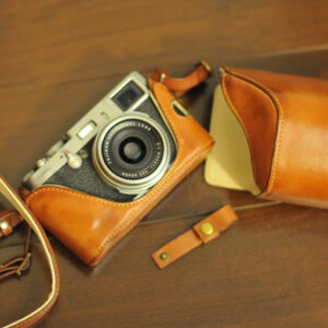 Fujifilm X100T 相機皮套 Leather case 富士フイルム X100T 用カメラケースby KAZA
