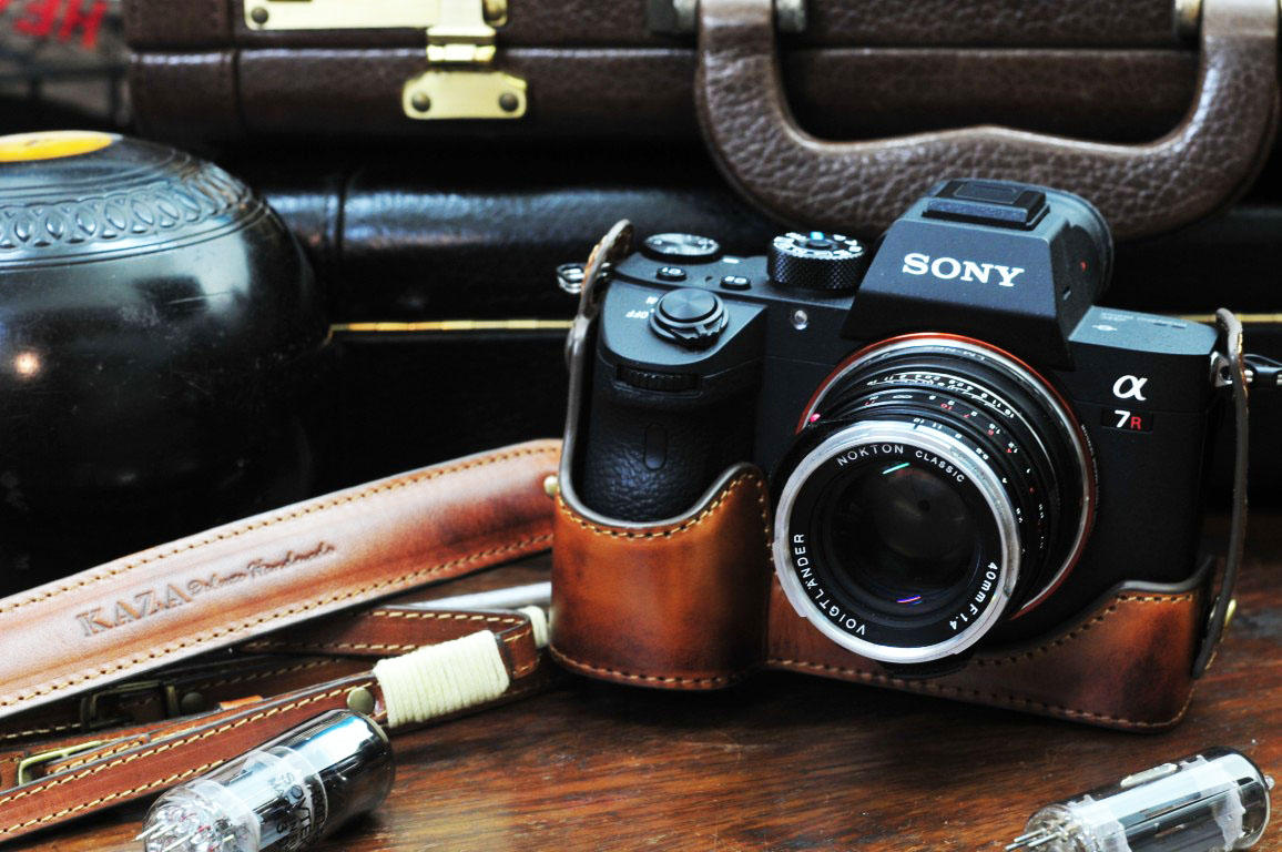 SONY A7R3 A7 iii Leather half case