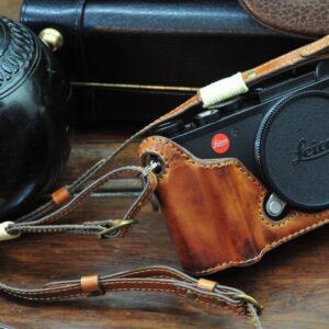 leica CL leather case half case カメラケース 相機皮套