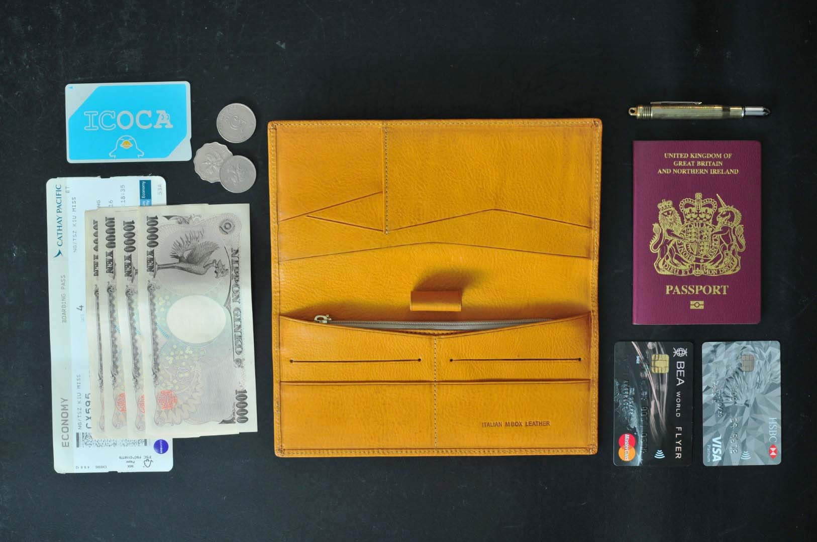 how to put your plane ticket on wallet