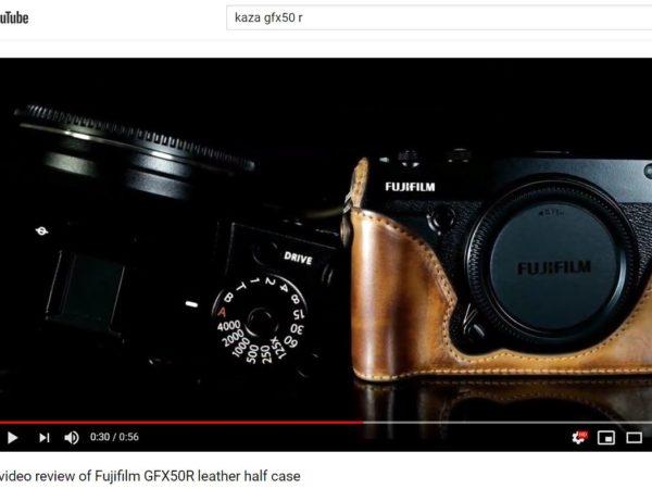 gfx50r leather case, gfx50r half case, gfx50r body case